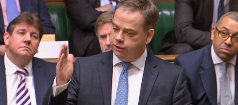 Nigel Adams MP speaking in the House of Commons